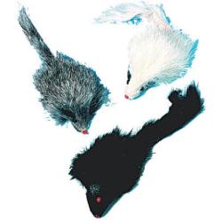 Souris en fourrure pour chat - WOUAPY