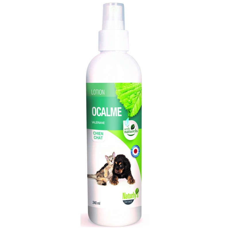 NATURLY'S - Lotion Ocalme naturelle pour chat en 240 ml