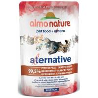 ALMO NATURE - Pâtée pour chat The Alternative en Pochon de 55 g
