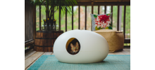Litière ou niche pour chat design 100% Made in France - POOPOOPEEDO