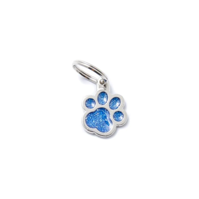 Médaille patte de chat paillettes Shine - MY FAMILY