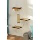 Set d'étagères pour chat 4 pièces - SILVIO DESIGN