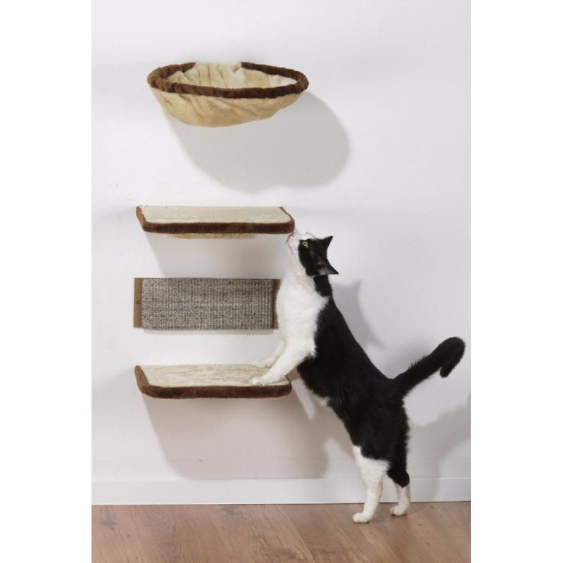 kit de 4 tag res arbre chat cat apart. Black Bedroom Furniture Sets. Home Design Ideas