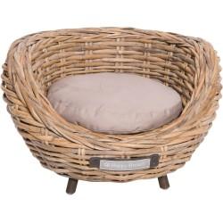 Sofa pour chat en osier - HAPPY HOUSE