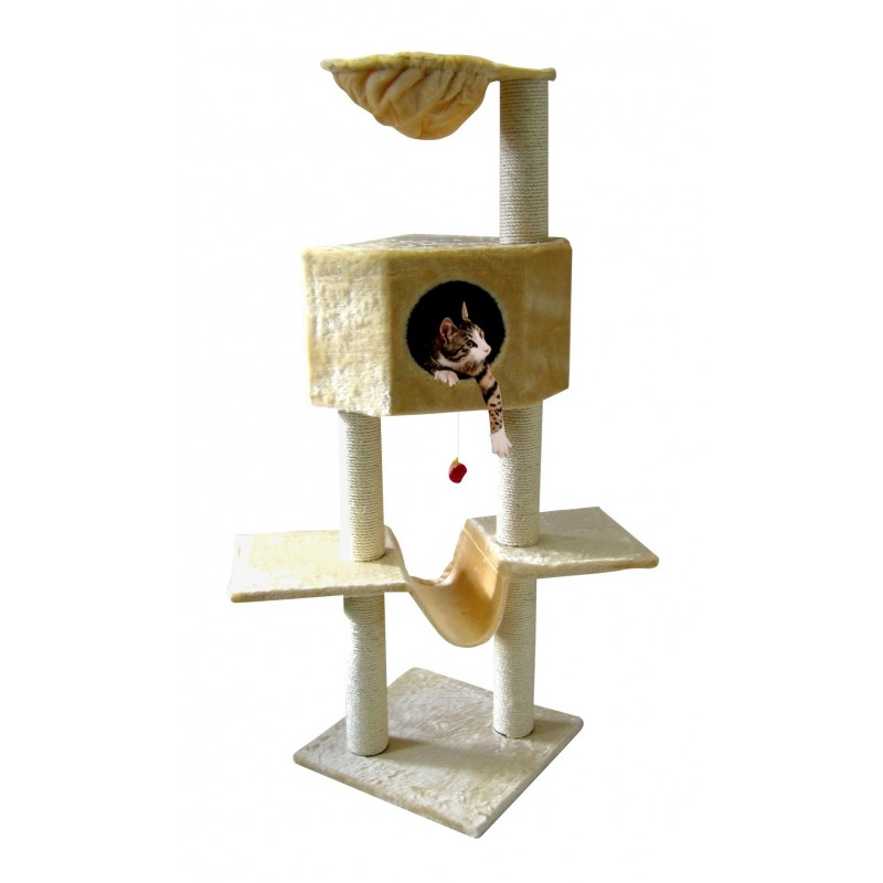 Arbre à chat avec Hamac - SILVIO DESIGN
