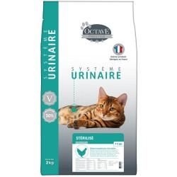 OCTAVE URINAIRE - Croquettes naturelles pour chat stérélisé