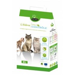 OCTAVE NATURE - Litière pour chat Végétale Odeur Contrôle 8 L