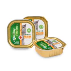 EQUILIBRE & INSTINCT - Pâtée pour chat en boîte 16 x 100 g