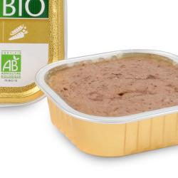 EQUILIBRE & INSTINCT - Pâtée pour chat Bio en boîte 16 x 100 g