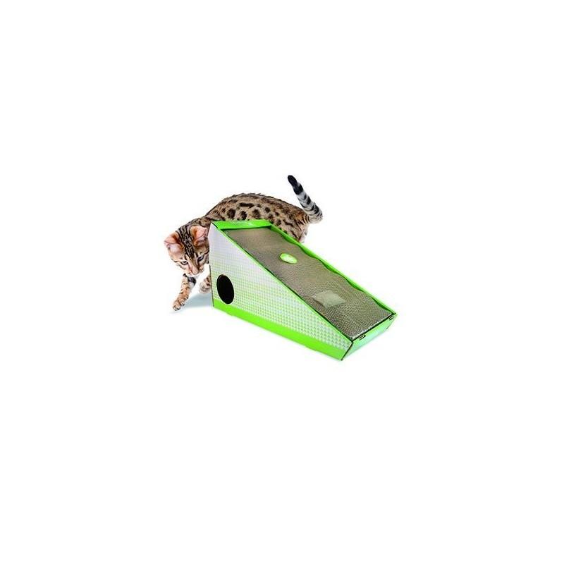 Griffoir pour chat en carton oblique - HAMIFORM