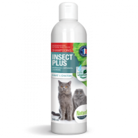 NATURLY'S - Shampoing anti-puces naturel pour chat Insect Plus 140 ml