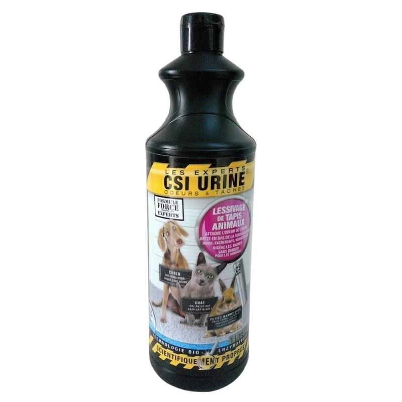 CSI URINE - Spray pour éliminer les tâches et les odeurs d'urine