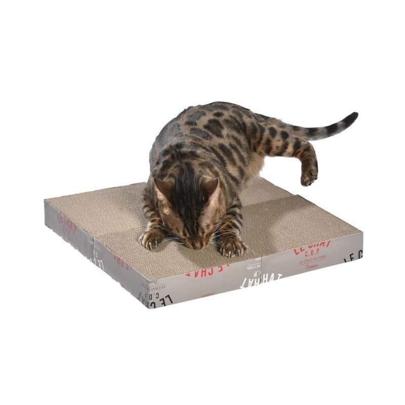 Griffoir pour chat en carton Zigzag - BOBBY