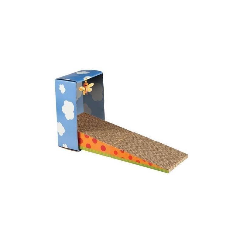 Griffoir en carton pour chat oblique - WOUAPY