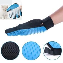 Gant à brosser en silicone pour chat - FLAMINGO