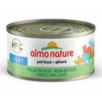ALMO NATURE - Pâtée pour chat HFC Light 70 g
