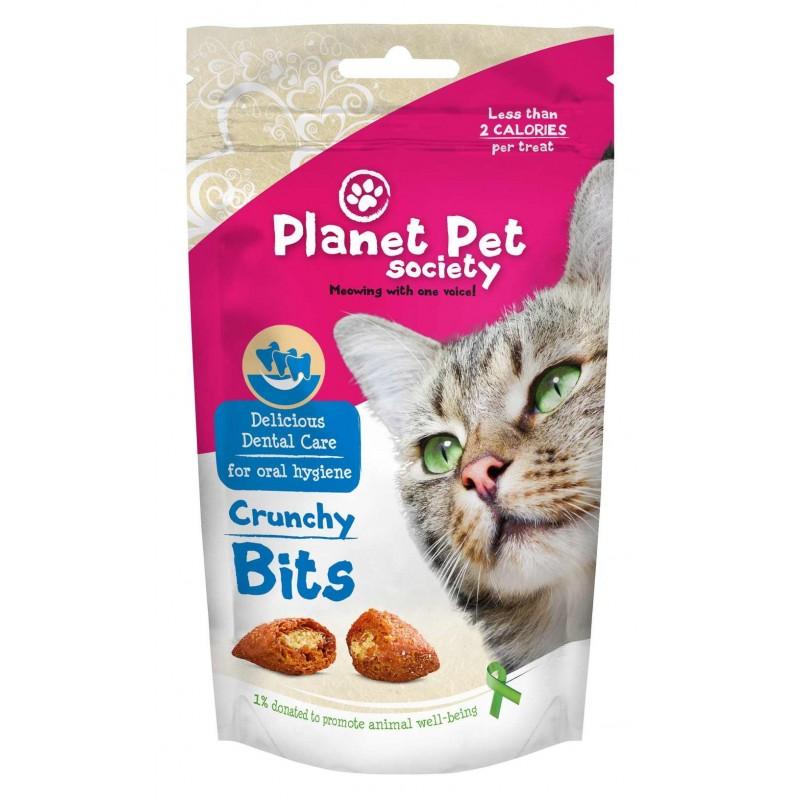 PET PLANET - Friandises bucco-dentaires : pour nettoyer les dents du chat 40 g
