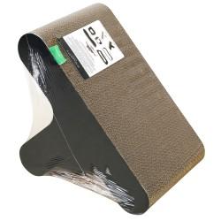 Griffoir en carton design et résistant pour chat Cacta - WOUAPY
