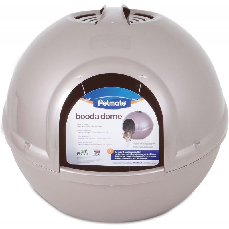 Maison de toilette ronde et design Petmate Booda Dôme  - WOUAPY