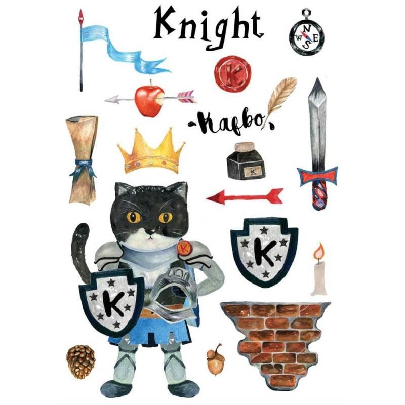 maison et griffoir en carton pour chat castle chevalier. Black Bedroom Furniture Sets. Home Design Ideas