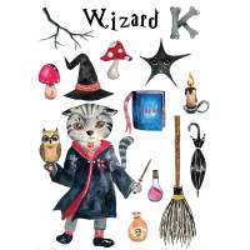 Maison et griffoir en carton pour chat Castle Magicien - CAT IN THE BOX