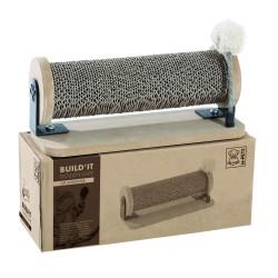 Griffoir en carton et bois pour chat Build it Golden Gate - M-PETS