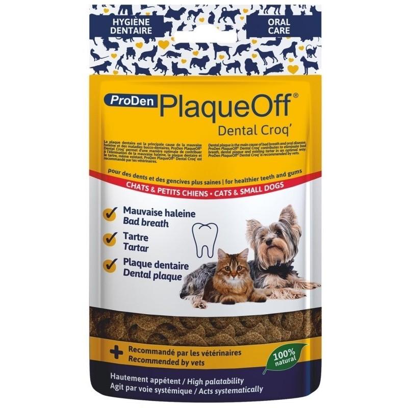 PLAQUE OFF - Friandise bucco- dentaire chat et chien 60 g