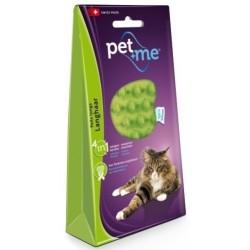Brosse en cilicone pour chat à poil long - PET + ME