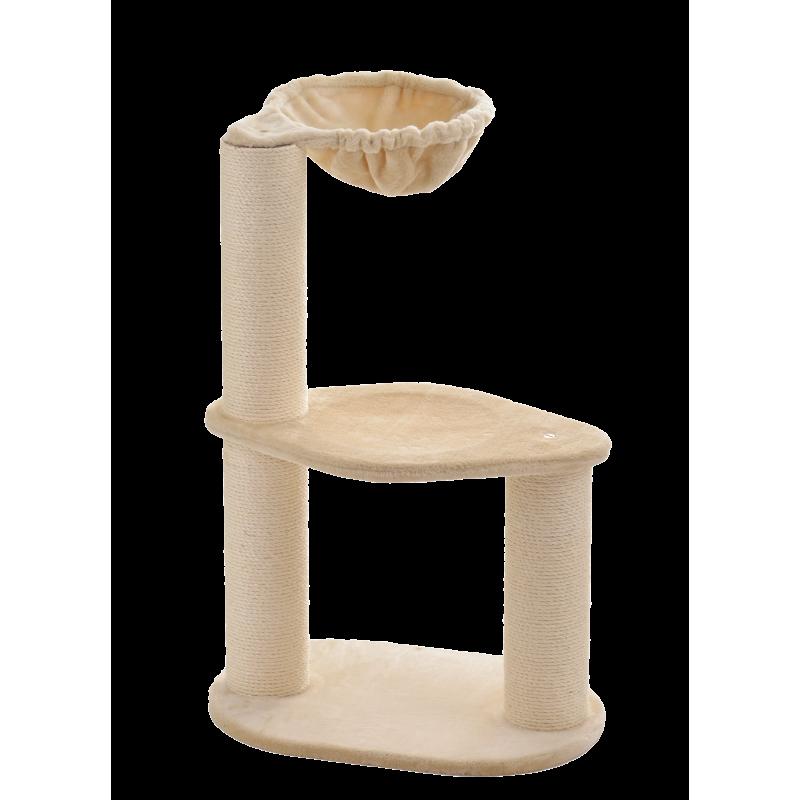 Petit arbre à chat avec hamac Bodo - SILVIO DESIGN