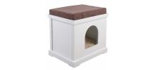 Maison pour chat en bois Cube  - SILVIO DESIGN