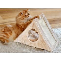 Griffoir en sisal pour chat Isa  - SILVIO DESIGN