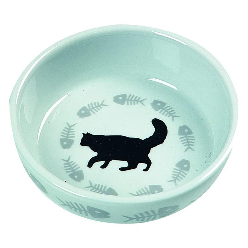 Gamelle pour chat en céramique Cats - FLAMINGO
