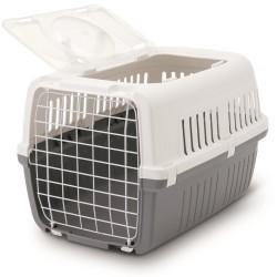 Cage de transport pour chat ouverture par le haut Zephos 2 - SAVIC