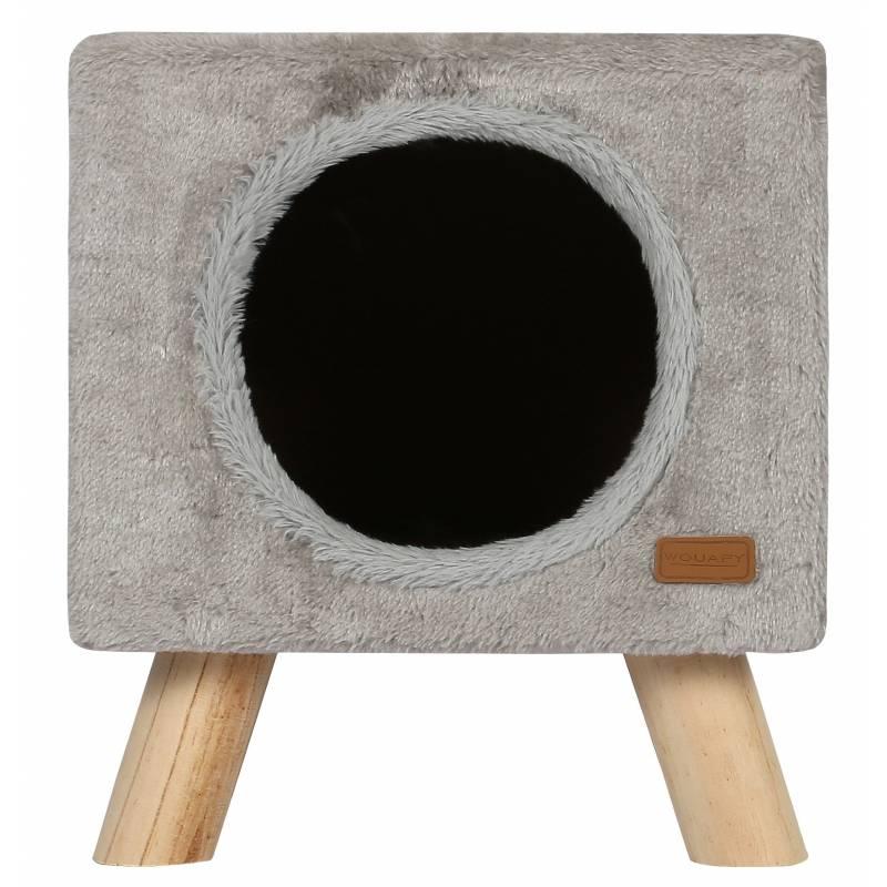 niche et griffoir pour chat piloti wouapy. Black Bedroom Furniture Sets. Home Design Ideas