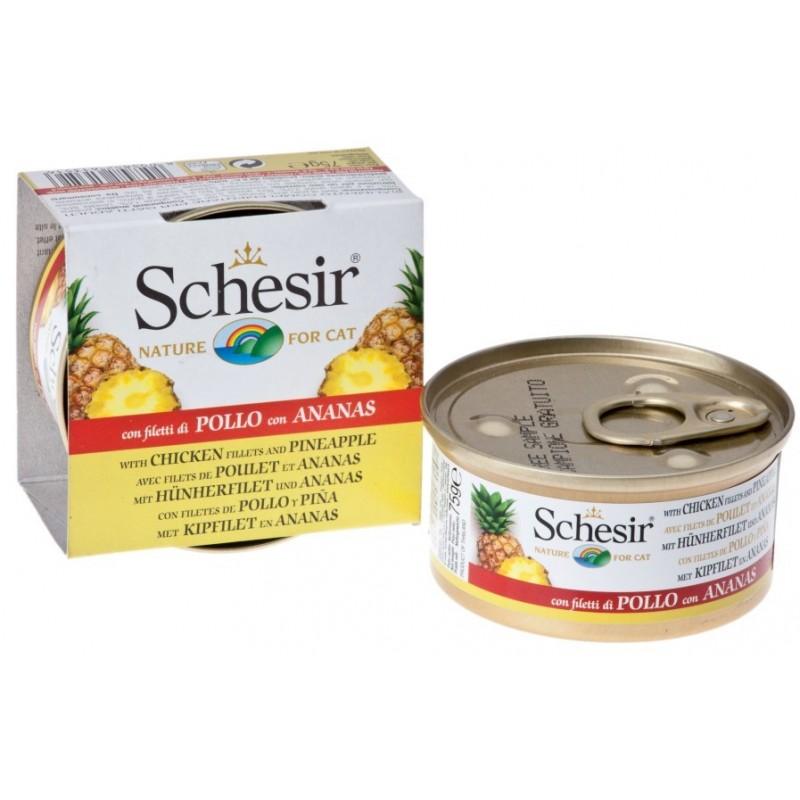 SCHESIR - pâtée pour chat aux fruits 75 g