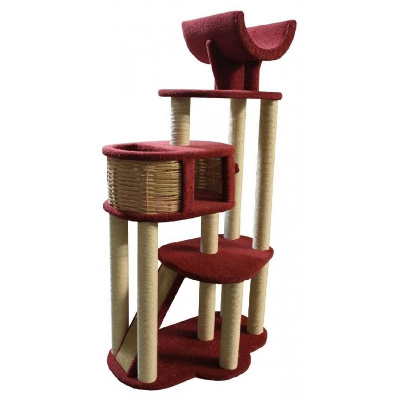 Grand arbre à chat revêtement moquette Circus - CES'ART