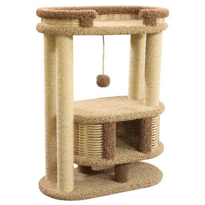 Arbre à chat revêtement moquette Fidou - CES'ART