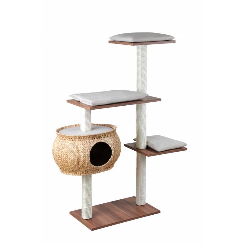 styles frais sélection spéciale de Vente Arbre à chat bois et jacinthe Katzenboy Cosy - Silvio Design