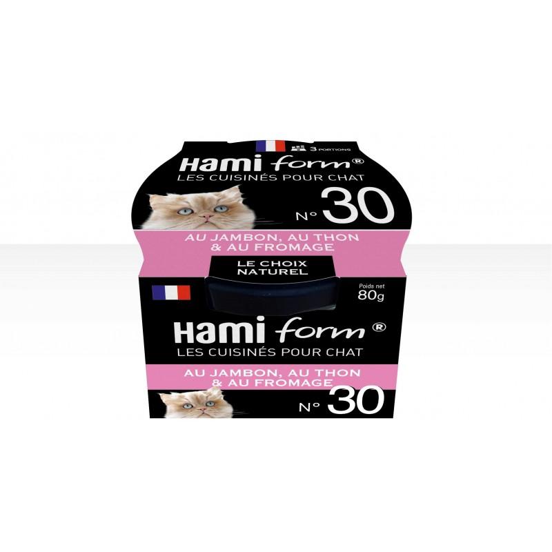 HAMIFORM - Patee pour chat super premium en pot de verre