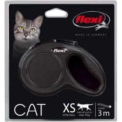 Laisse enrouleur extensible pour chat Flexi - WOUAPY