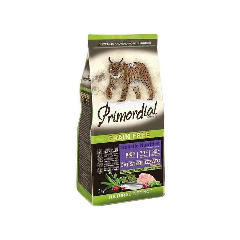 PRIMORDIAL - Croquettes sans céréale pour chat Urinary