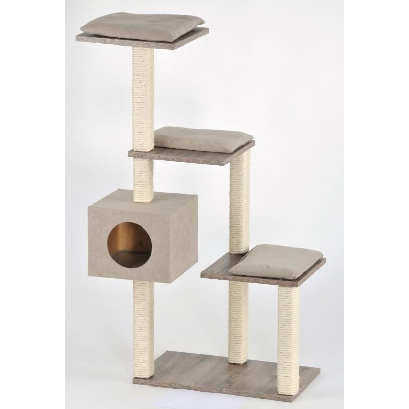 Arbre à chat escalier coloré Cosy - SILVIO DESIGN