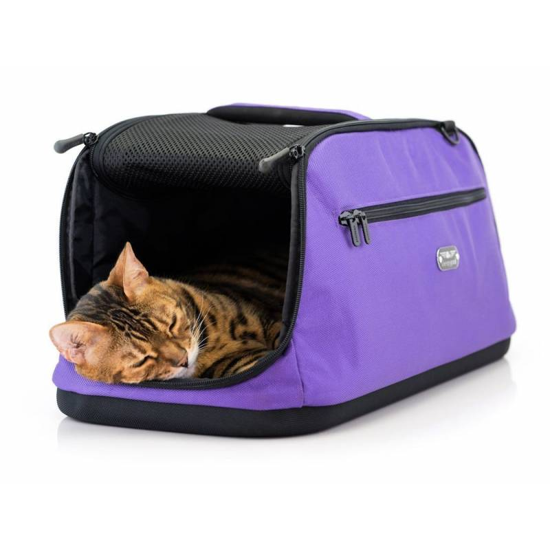 sac de transport pour chat sp cial avion sleepypod air. Black Bedroom Furniture Sets. Home Design Ideas