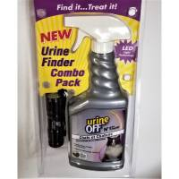 URINE OFF - Torche détection urine pour chat + 500 ml offert