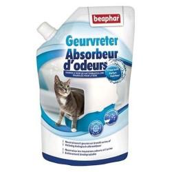 Absorbeur d'odeurs pour litière chat fraîcheur 400 g - BEAPHAR