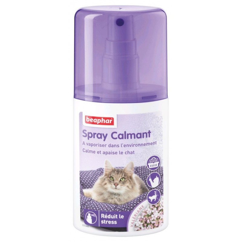 Spray calmant pour chat à la valériane 125ml - BEAPHAR