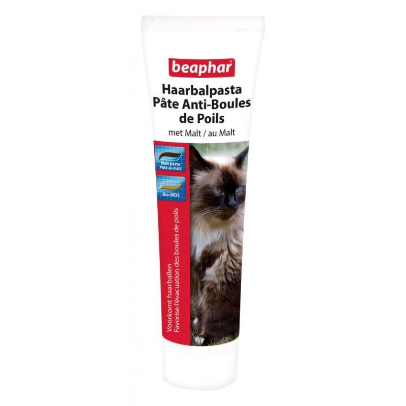 Pâte anti-boules de poils au malt pour chat 100 g - BEAPHAR
