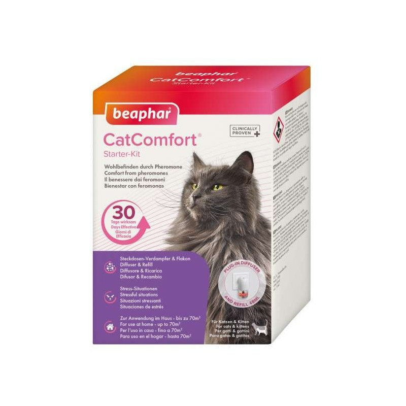 Diffuseur pour chat aux phéromones Catcomfort - BEAPHAR