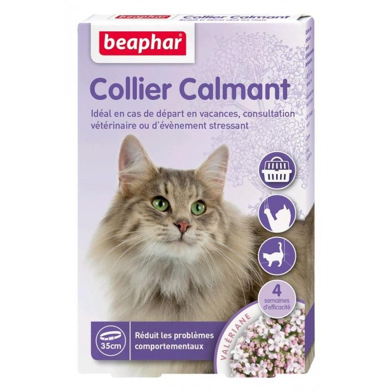 Collier calmant pour chat à la Valériane - BEAPHAR