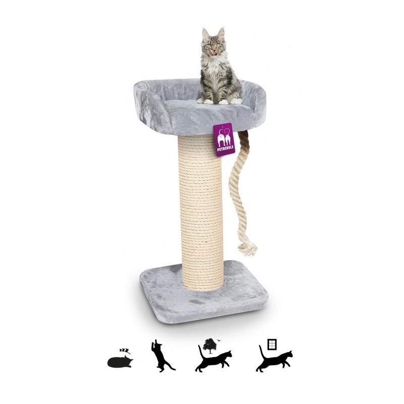 Tour pour chat à griffer de grande qualité Main Coon 100 cm - PETREBELS